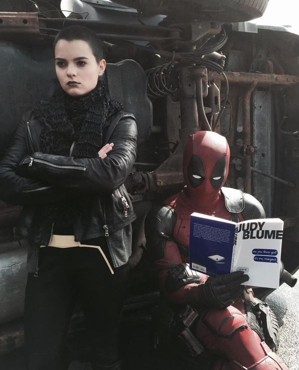 Deadpool Tries To Connect With Negasonic Teenage Warhead