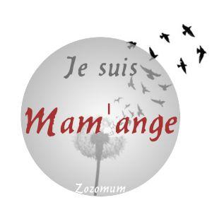 mamange deuil périnatal macaron logo badge blog profil