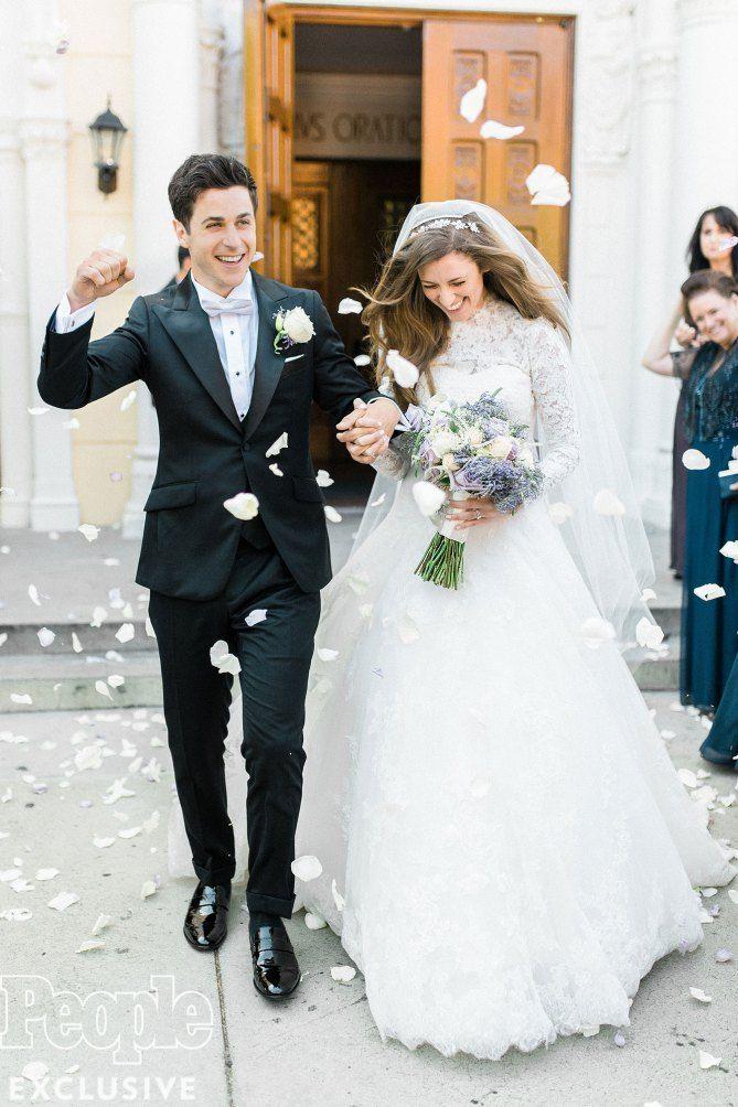 David Henrie & Maria Cahill Wedding