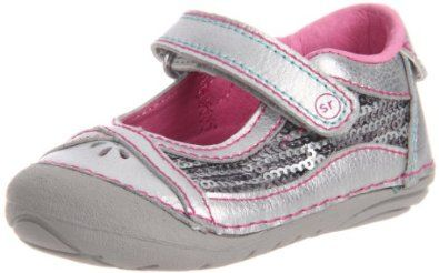Stride Rite SRT SM Dream Queen Mary Jane (Infant/Toddler),Silver,5 M US Toddler Stride Rite. $25.99