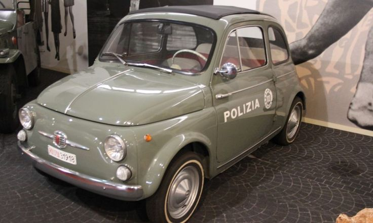 auto della polizia italiana vintage - Cerca con Google