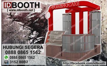 design booth domino cafe mulai dari harga 2jtan visit: www.idbooth.net