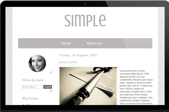 Check out Simple by symufaplus on Creative Market