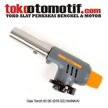 Gas Torch Kt 06 (016-02) NANKAI - kompor bakar  Kode : 600014 Nama : Gas Torch Merk : NANKAI Tipe : Kt 06 (016-02) Berat Kirim : 1 kg  #gastorch #komporbakar