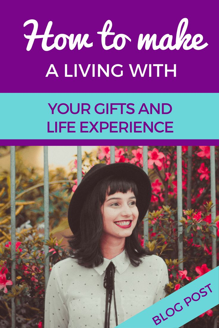 Learn how to make a living from your gifts and life experience by focusing on these important parts of your business http://screwthecubicle.com/gifts-and-life-experience