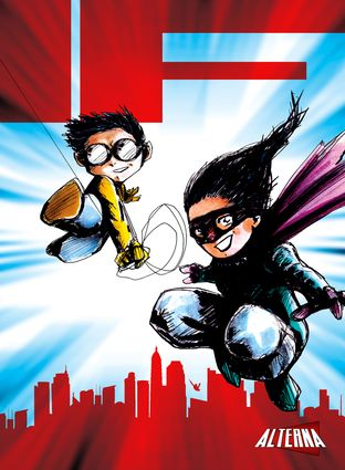 IF Anthology: Super Powers By Peter Simeti, By Chas! Pangburn, Illustrated by Michael Oppenheimer  IF Anthology  COMICS & GRAPHIC NOVELS