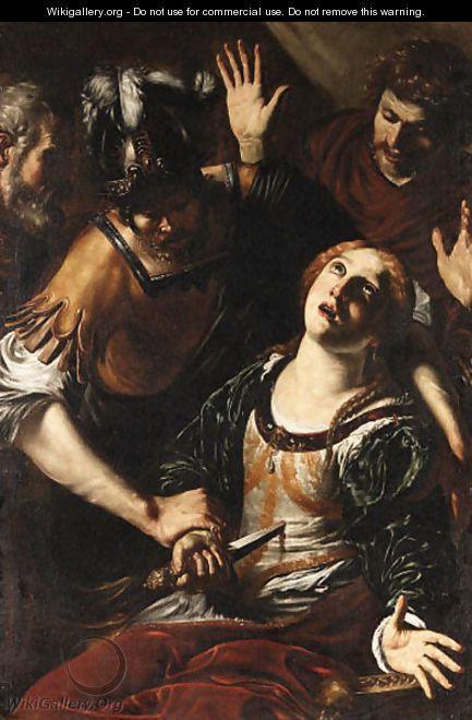 The Death of Lucretia - Orazio Borgianni