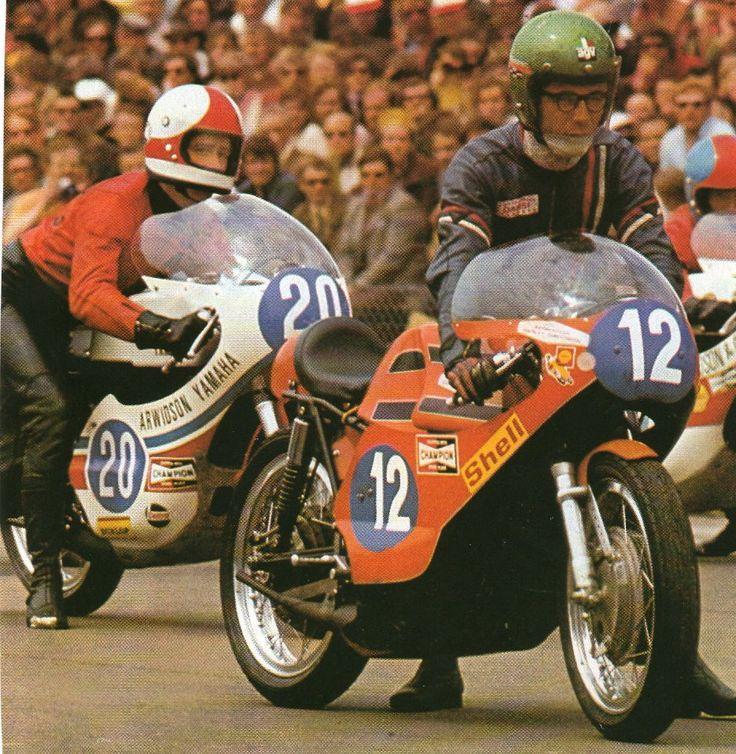 Jarno Saarinen and Renzo Pasolini....Renzo Pasolini, Jarno Saariner, two champions, two heroes will never forget!. Source: José Antonio Jiménez Partearroyo