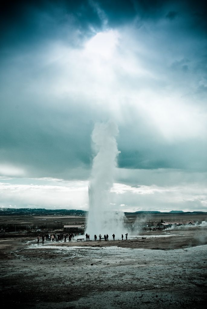 Iceland - Strokkur Geysir | Flickr - Photo Sharing!