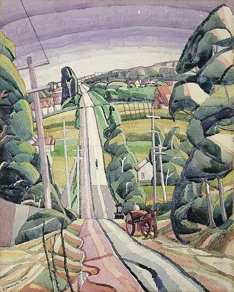 Eastern Road, Turramurra (Grace Cossington Smith).