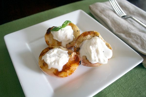 Grilled Peaches and Cream. Grilled Peaches are one of my FAVORITE ...