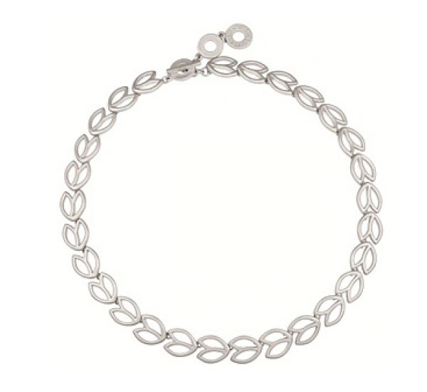 Wheat short necklace worn silver. £59.99