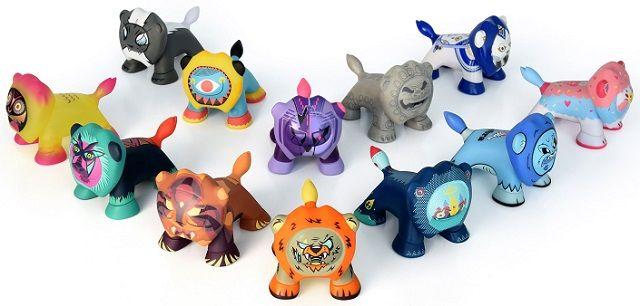 Art Toys LEO'Z: O leão da Peugeot mostra a sua raça