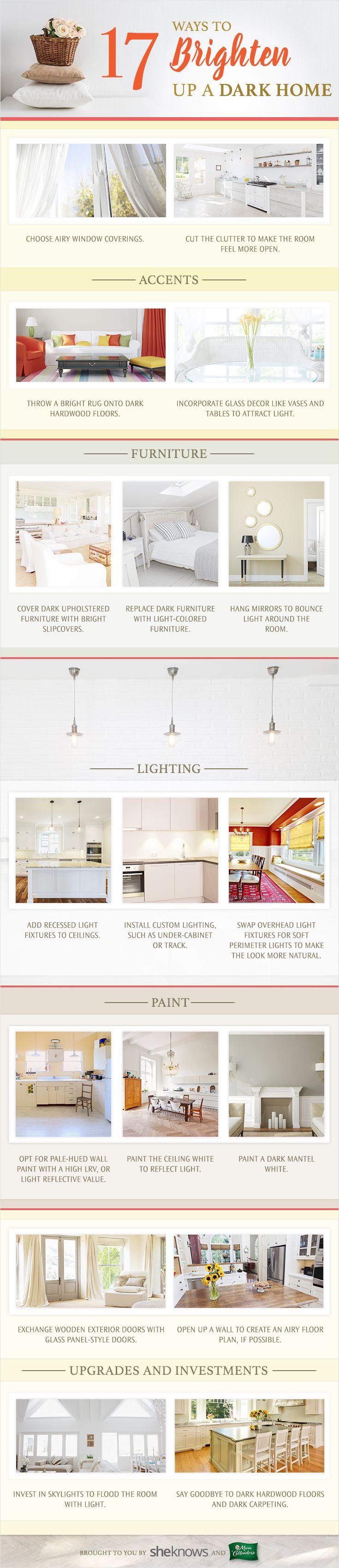 top 25 best brighten dark rooms ideas on pinterest. Black Bedroom Furniture Sets. Home Design Ideas