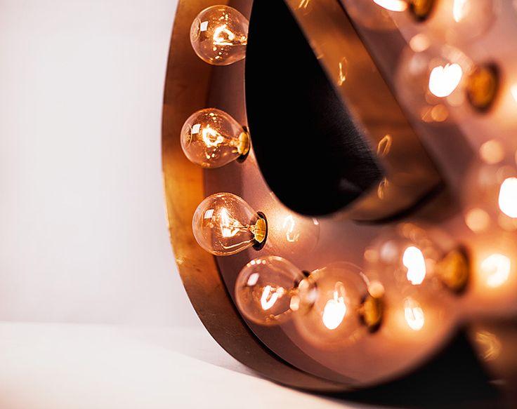 http://eastlights.com/  #literyzzarowkami #lights #marquee #letters #eastlights.com #bulblights #cinemalightbox