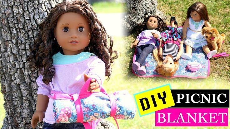 American Girl Doll DIY Picnic Blanket