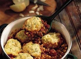 Chili with Corn Dumplings | Recipe