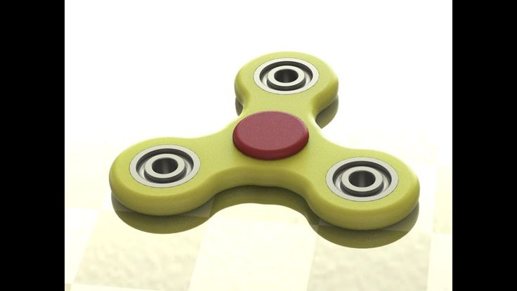 Как сделать спиннер в SolidWorks. How to make a spinner in SolidWorks