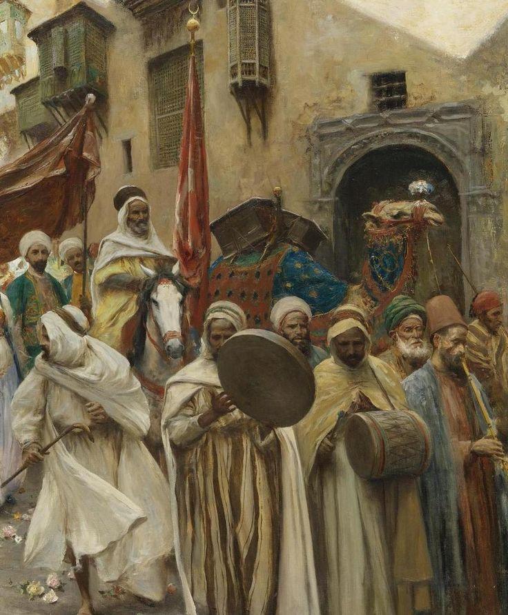 [Ottoman Empire] A Wedding Procession in Cairo, Egypt (Osmanlı Dönemi Kahire'de Bir Düğün Alayı)