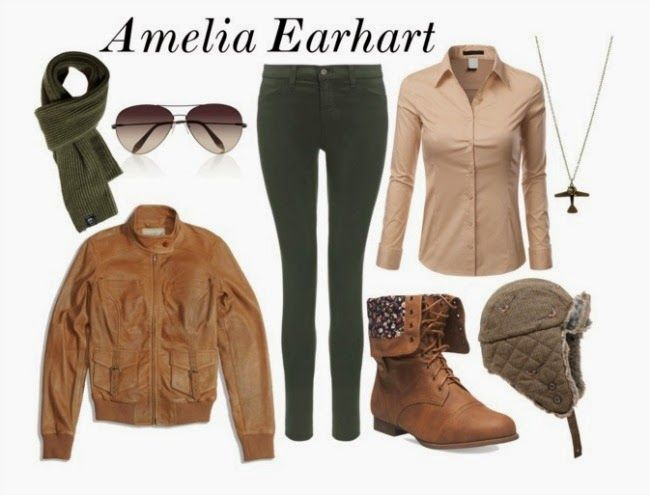 Amelia Earhart Diy Costume Diy Halloween Costumes Easy Amelia Earhart Costume Diy Halloween Costumes For Women