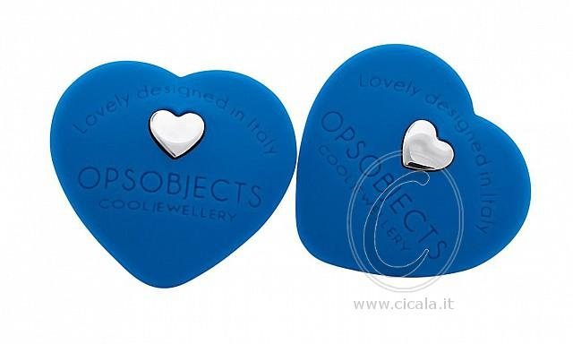 ❤ OPS! Earrings ❤ @ only €28,00 Register NOW on www.cicala.it for discount! Blue color!