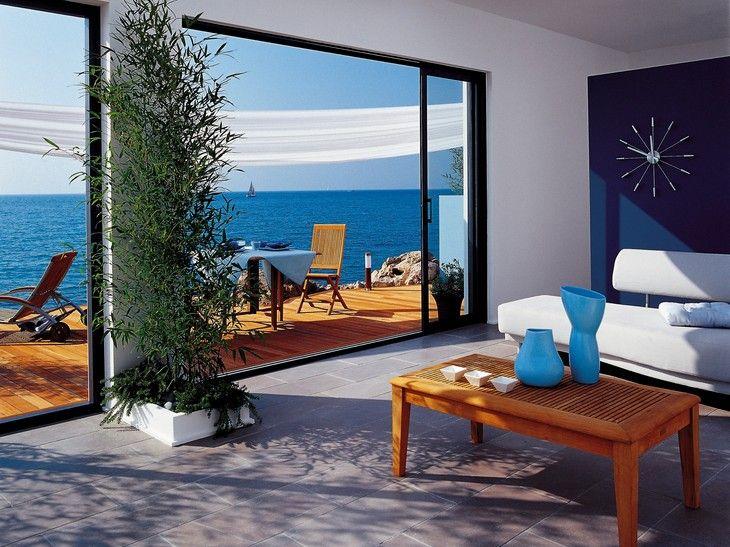 Fabuleux Les 25 meilleures idées de la catégorie Baie vitrée coulissante  BI83