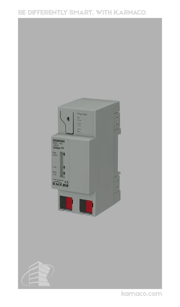 Linebackbone coupler N 14013  اطلاعات بیشتر در کانال ما https://t.me/karnaco_official   www.karnaco.com Tel:021-22671795  #home_automation #KNX #building_management_system #BMS  #automation_system #building_control #architecture  #construction  #smart_home #design  #decoration  #Siemens  #Siemens_automation  #industrial_automation  #modern  #luxury  #معماری  #هوشمندسازی  #اتوماسیون_ساختمان  #اتوماسیون_صنعتی #سیستم_کنترل  #هوشمند_سازی  #خانه_هوشمند #طراحی  #اتوماسیون_زیمنس  #لوکس…