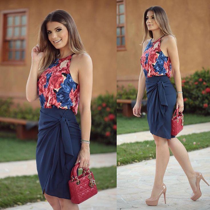 Look @modaschouchou  Nova coleção amanhã na loja! Já do #previewverao17 Não está demais essa saia?!