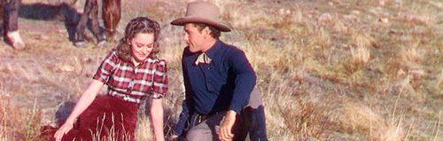 Errol Flynn and Olivia de Havilland - a great acting pair
