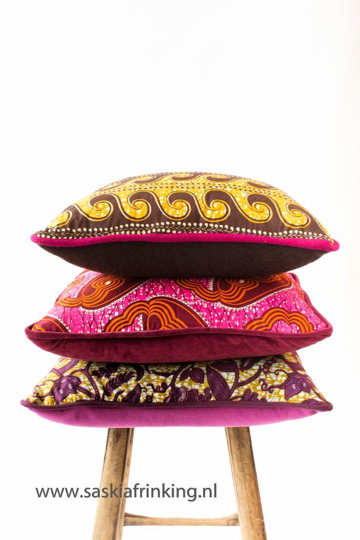 cushions African print
