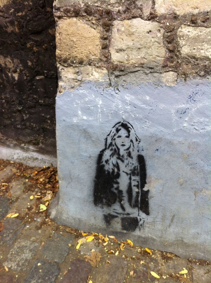 Banksy in Paris.