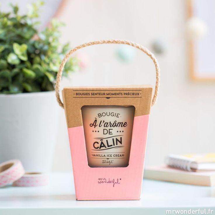 Bougie à l'arôme de câlin - Vanilla Ice Cream (FR) - Mr. Wonderful