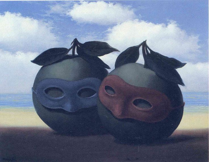 The hesitation waltz - Rene Magritte