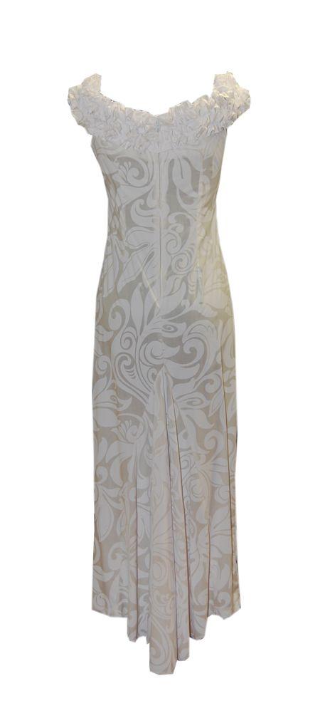 Hanalei Hawaiian Wedding Dress, Jade Fashion - Aloha Wear Clothing Store