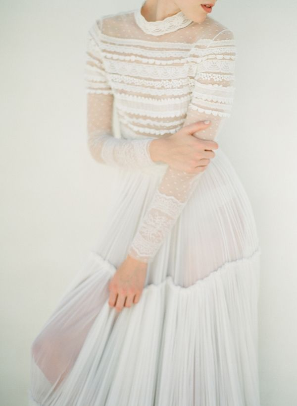 Bohemian Luxe Bridal Style wearing Christos Costarellos | Vasia Han Photography