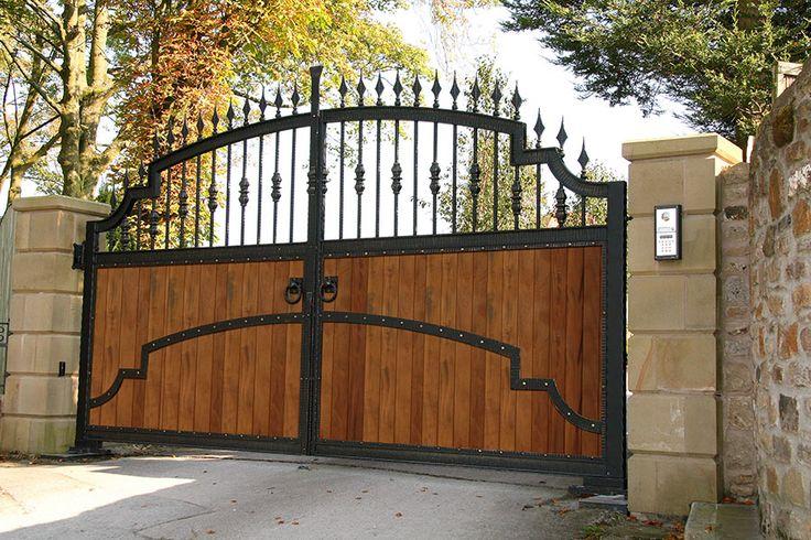 Wooden Gate Design Showroom 012: 10 Best Luxury Gates Images On Pinterest