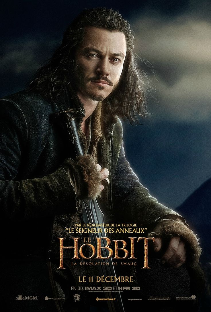 The Hobbit: The Desolation of Smaug (2013) - Luke Evans as Bard The Bowman