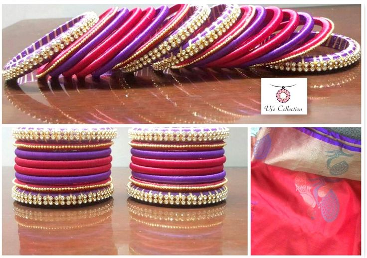 Beautiful red & purple combo! Product Code vjC1602 pls whatsapp for more details 9486109587