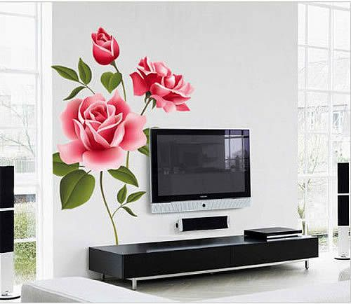 Best Flowers Tree Wall Stickers Images On Pinterest Tree - Custom vinyl wall decals flowers