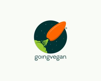 Going Vegan logo by dennyrachmats