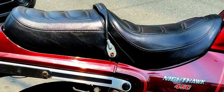 85 Nighthawk Seat & Side Emblem | Motorcycles | Pinterest