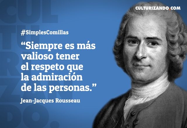 10 grandes frases de Jean-Jacques Rousseau - culturizando.com | Alimenta tu…