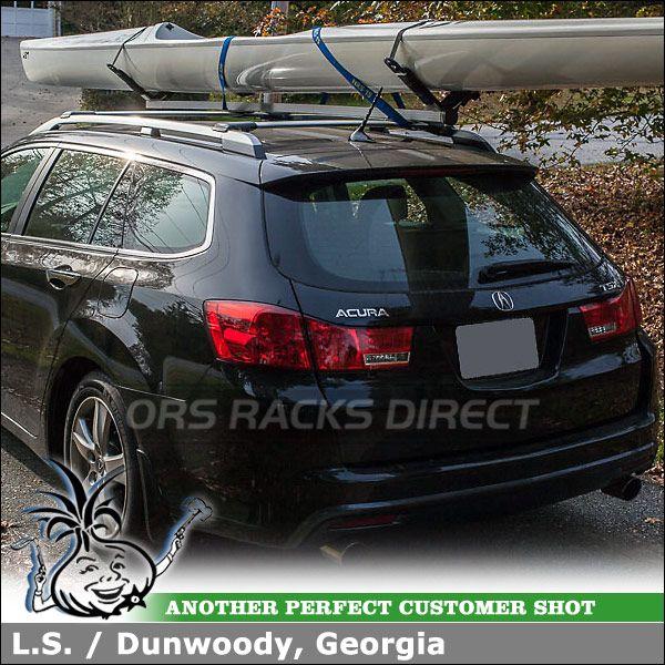 Tsx Wagon, Kayak Roof Rack, Acura Tsx