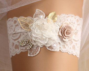Strumpfband Hochzeit Braut Strumpfband, Spitze Strumpfband, weißes Strumpfband, Kristall-Strumpfband, werfen Strumpfband, weisse Spitzen-Strumpfband, gold Strumpfband