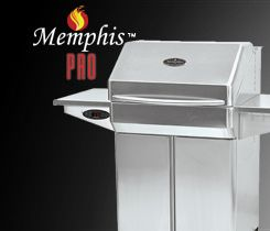 Wood Pellet Grill + Smoker! Memphis grills available at Olhausen! http://www.olhausengo.com/bbq.html#prettyPhoto
