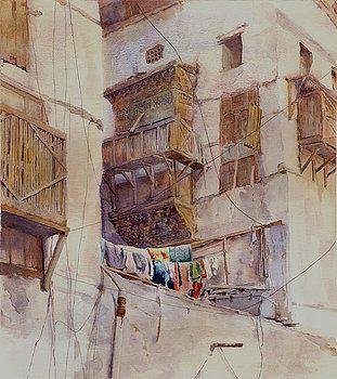 Washday Jeddah by Dorothy Boyer