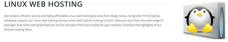linux web hosting @
