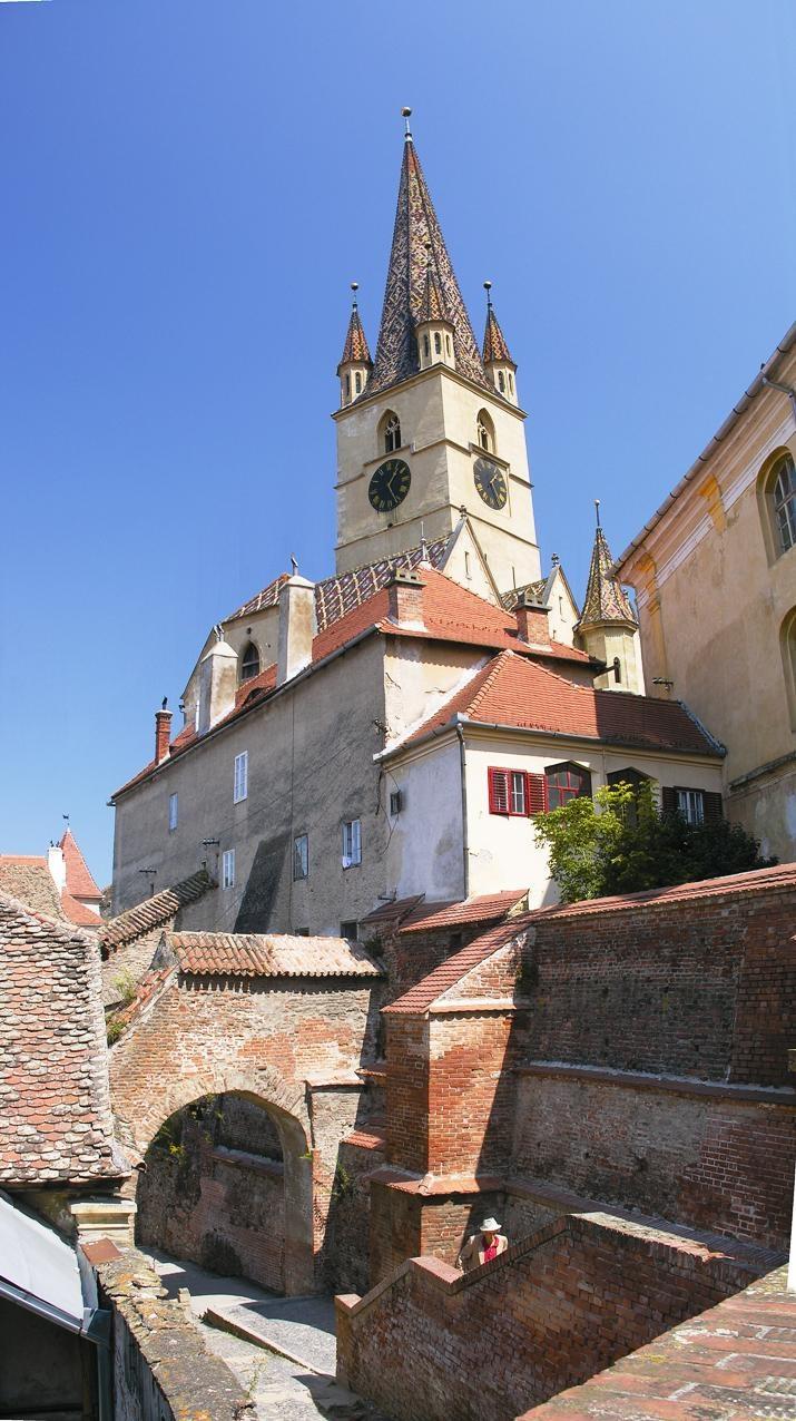 Castle in Sibiu/Romania