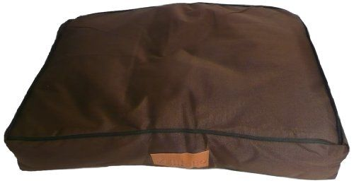From 30.12 Extra Extra Large 117cms X 75cms Waterproof Dog Bed In Brown Will Fit Ellie-bo 48 Inch Xxl Dog Cage Or Crate