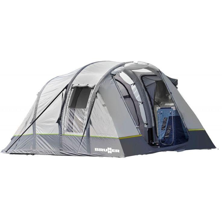 La tenda GONFIABILE! #Brunner aggiunge alla sua linea di #tende la ALEGRA, tenda pneumatica velocissima da montare e comodissima da vivere!